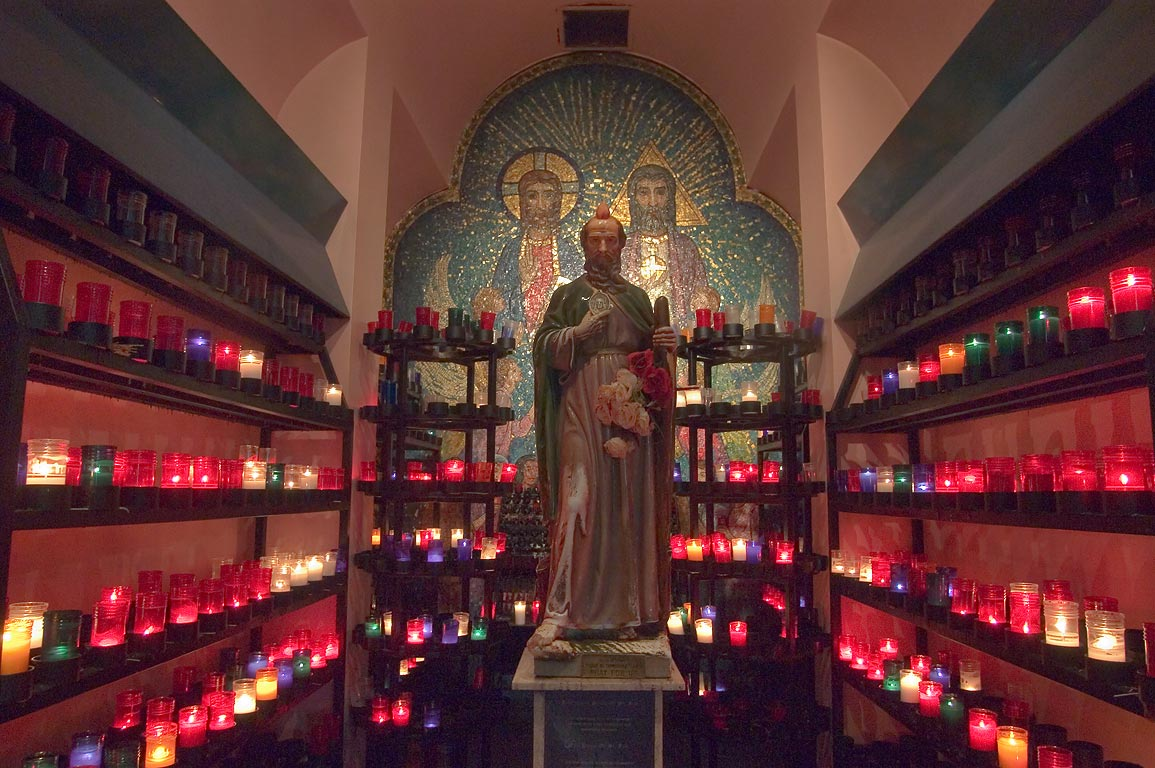 "Shrine of St.Jude in the chapel of Our Lady of...of the Dead""). New Orleans, Louisiana"