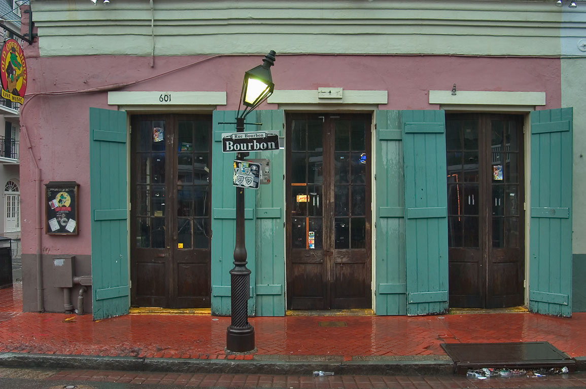 Old Opera House restaurant at 601 Bourbon Street...French Quarter. New Orleans, Louisiana