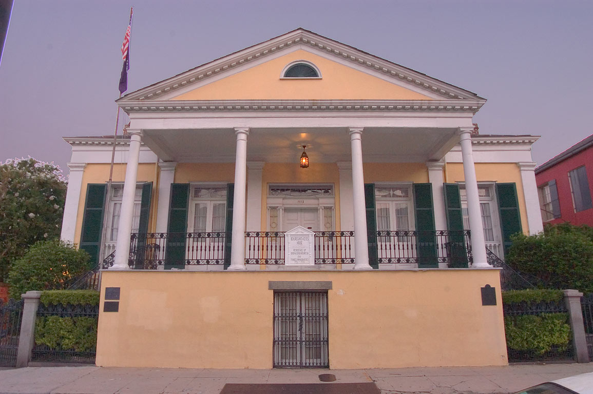 Beauregard-Keyes House, 1826, (Joseph...French Quarter. New Orleans, Louisiana