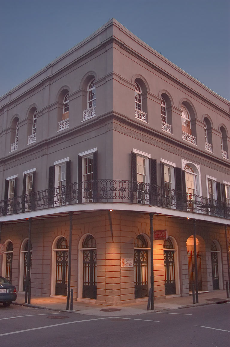 Lalaurie House at 1140 Royal St., a corner of...French Quarter. New Orleans, Louisiana