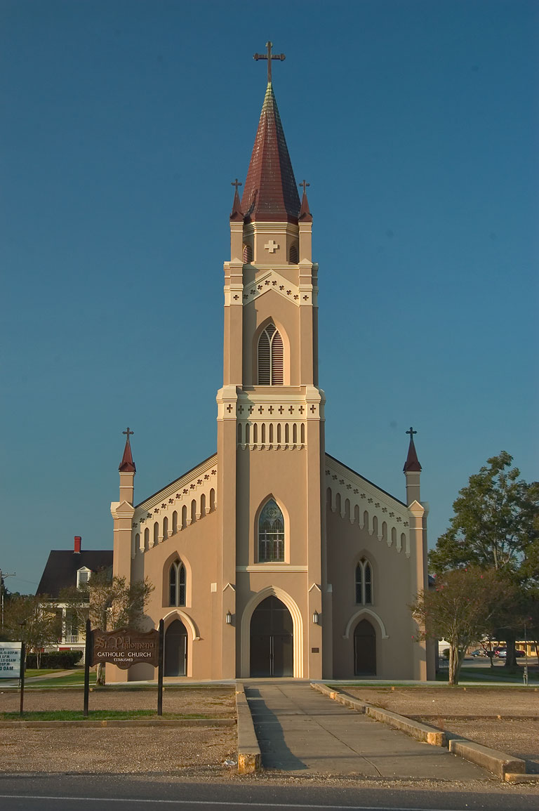 St.Philomena Catholic Church in Labadieville, Assumption Parish. Louisiana