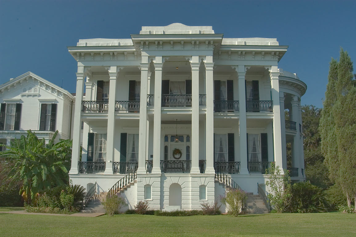 Nottoway Plantation in White Castle, Iberville Parish. Louisiana