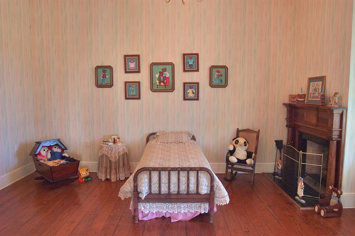 A children room in Greenwood Plantation. St.Francisville, Louisiana