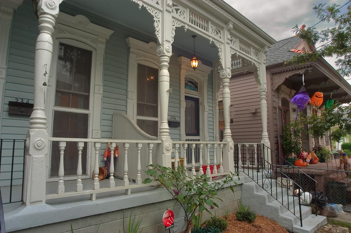 234-236 Alix Street in Algiers Point. New Orleans, Louisiana