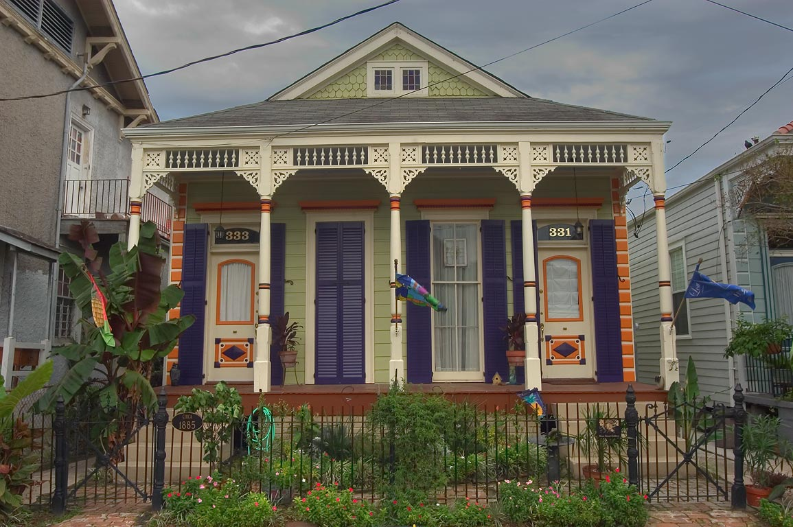 Shotguns new orleans and shotgun house on pinterest for Modular shotgun house