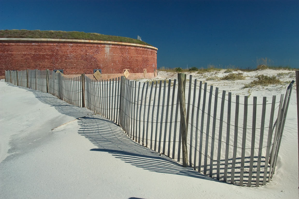 Fort Massachusetts in Ship Island. Mississippi