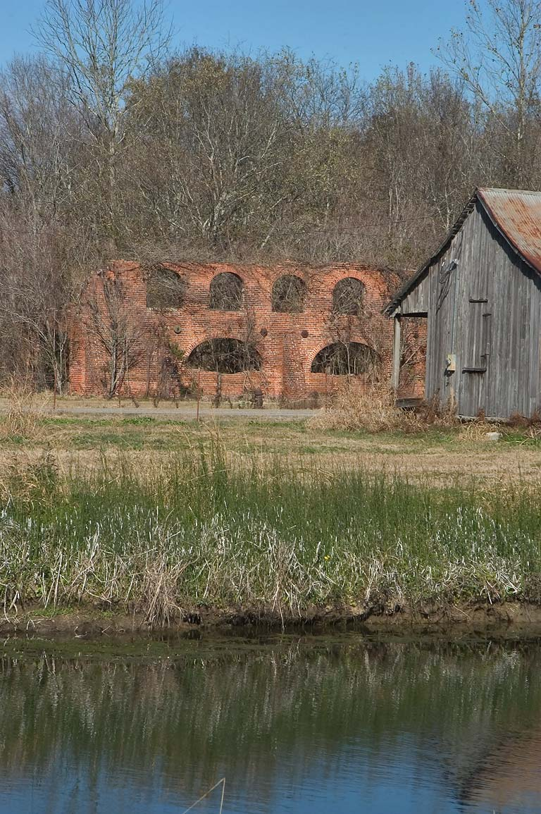 Old sugar mill in Laurel Valley. Thibodaux, Louisiana
