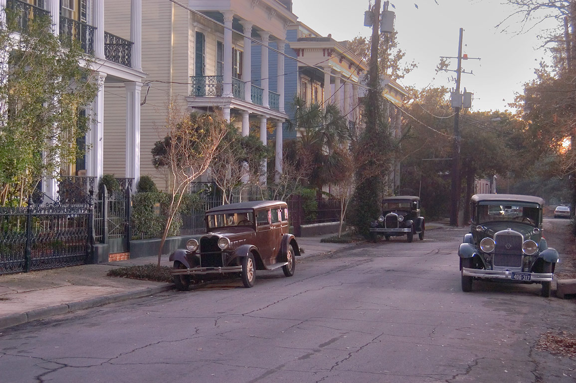 Freret's Folly at 2700-2706 Coliseum St. near...filming). New Orleans, Louisiana