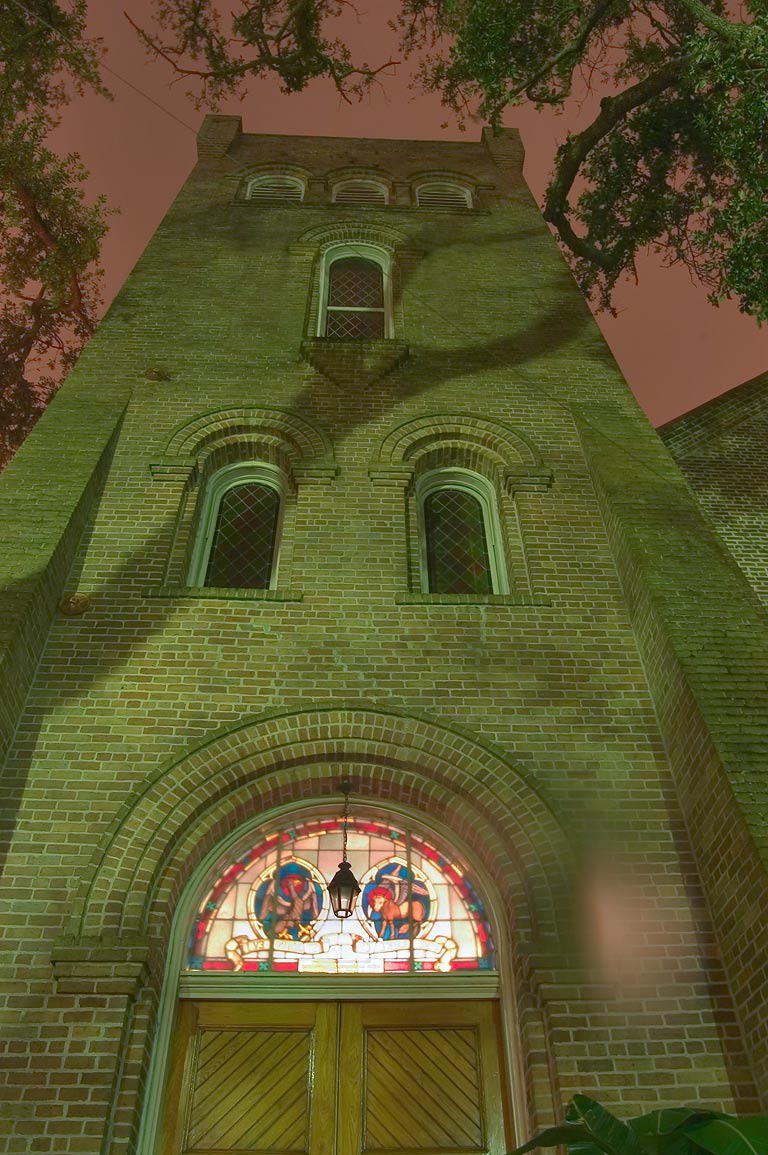 St. George's Episcopal Church at 4600 St.Charles Ave.. New Orleans, Louisiana