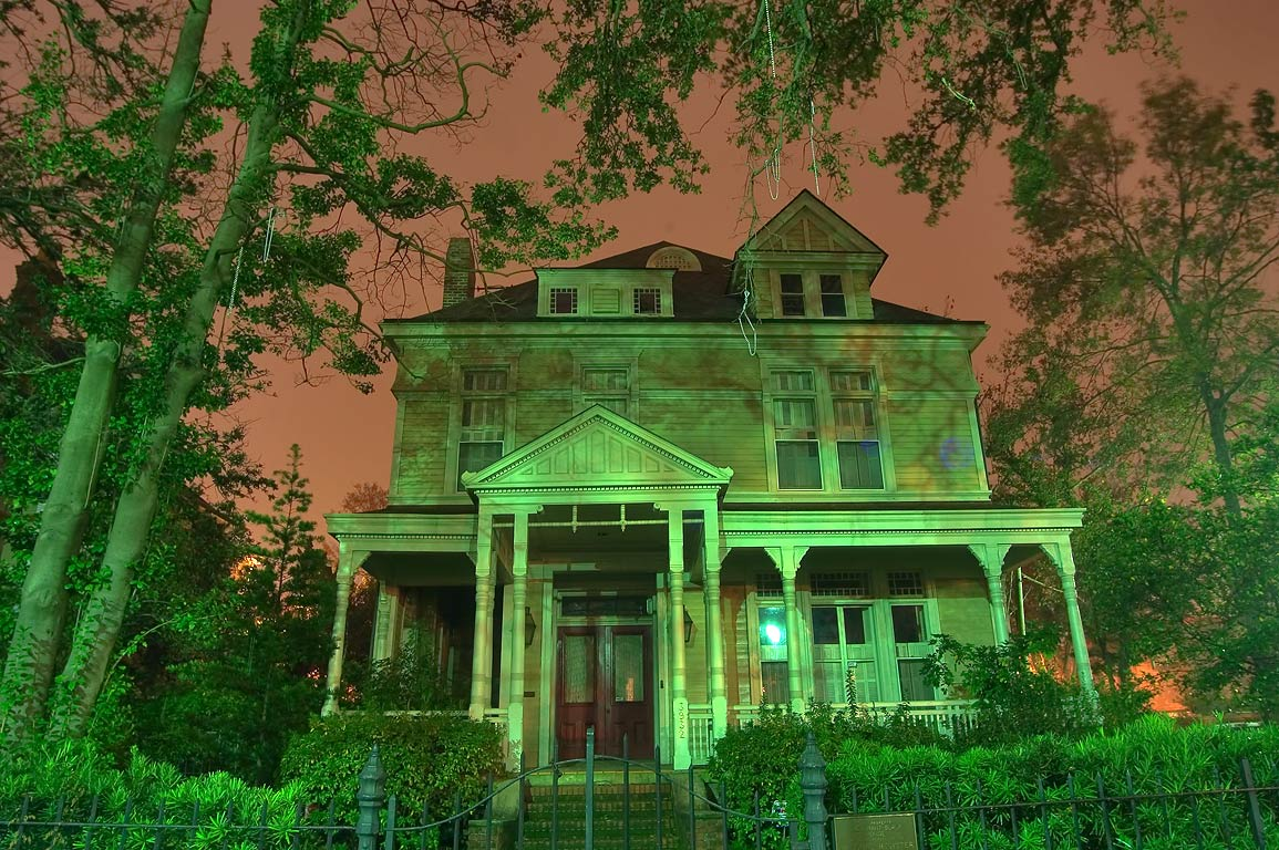 The Grant-Black House (Grant-St. Amant House) at...early morning. New Orleans, Louisiana