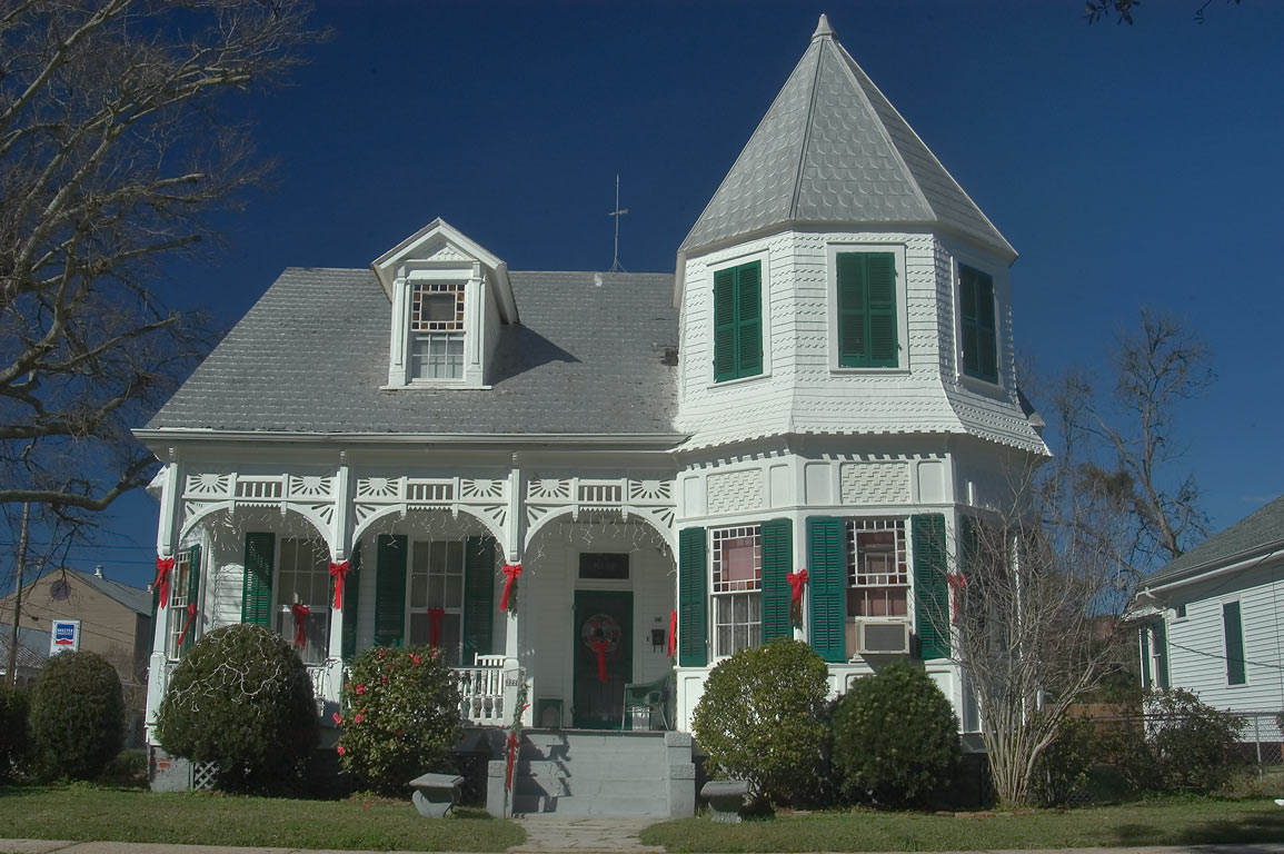 Rodrigue Residence (c. 1882) at 222 Lessard St...St.. Donaldsonville, Louisiana