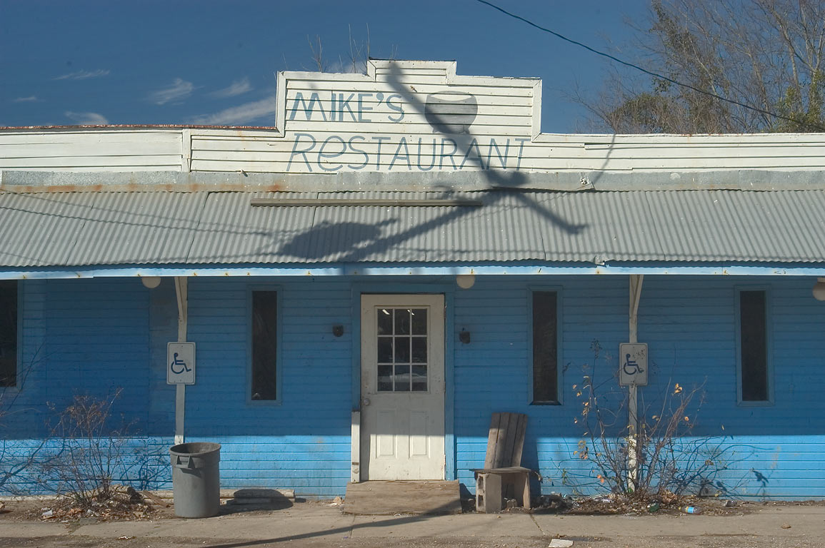 Mike's Restaurant on Lessard St.. Donaldsonville, Louisiana