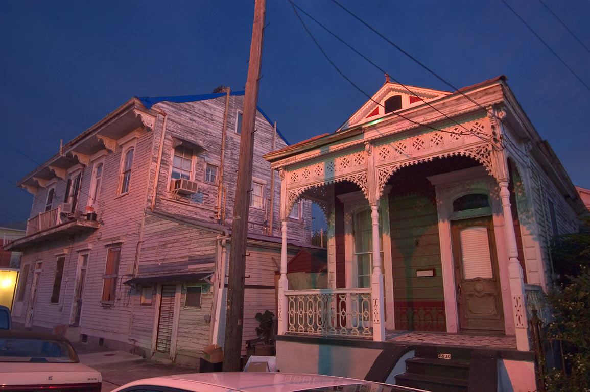 Somewhere near Dauphine St. and Franklin Ave. in Faubourg Marigny. New Orleans, Louisiana
