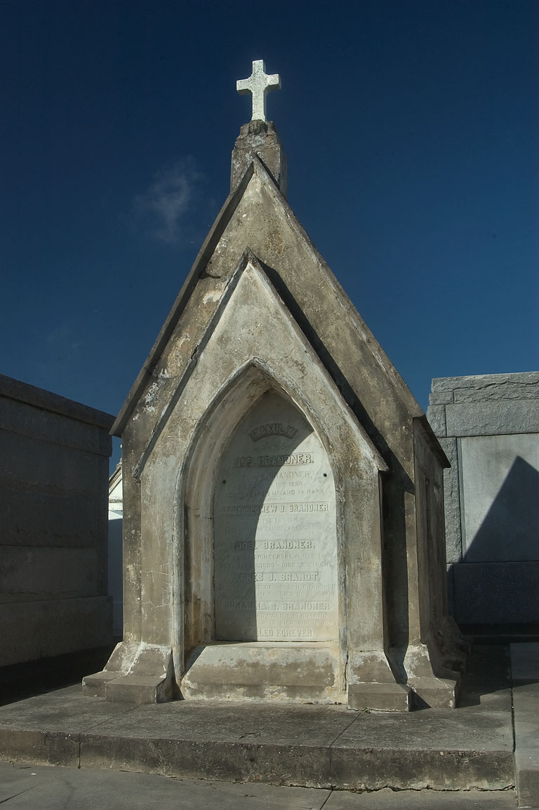 A tomb in St.Louis Cemetery No. 3. New Orleans, Louisiana
