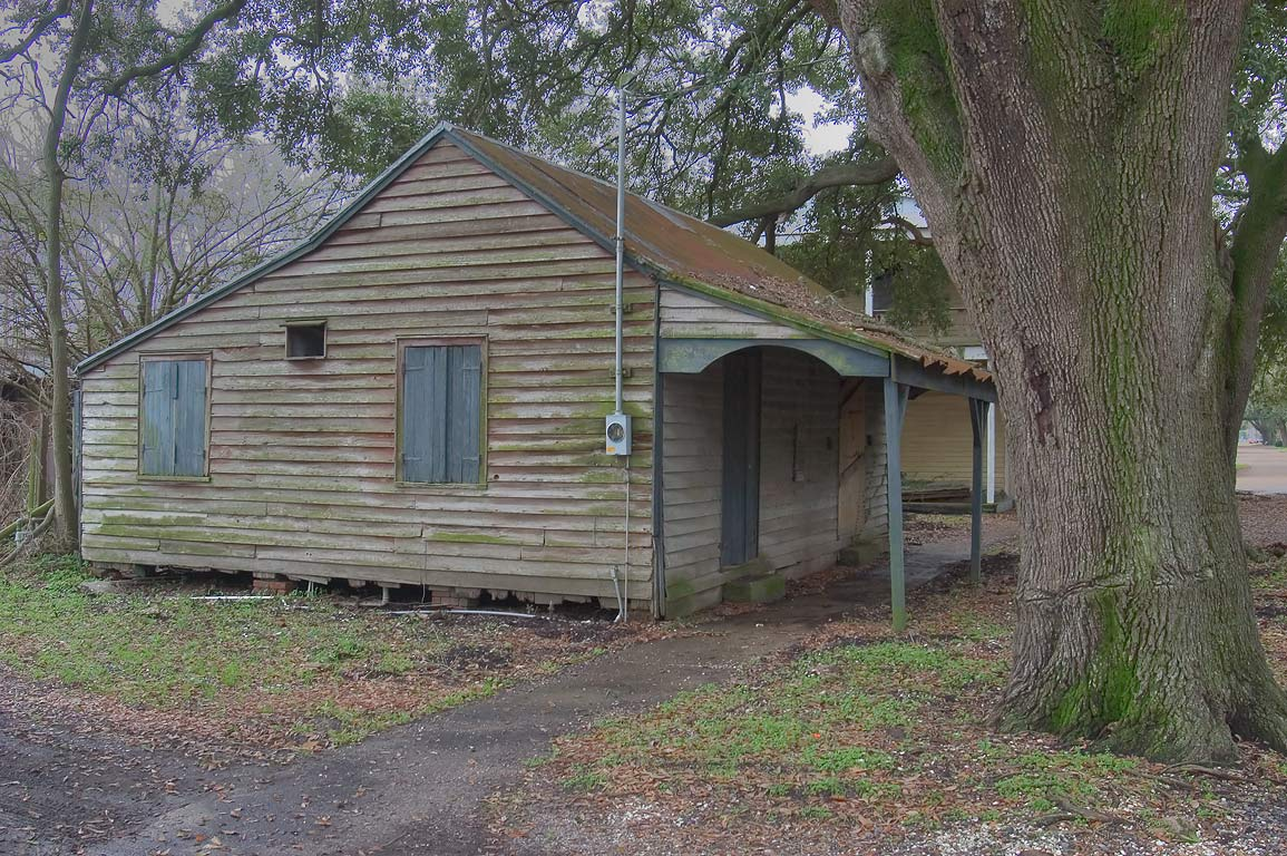 Slave Quarters (c. 1860) at 315 Charles St.. Donaldsonville, Louisiana