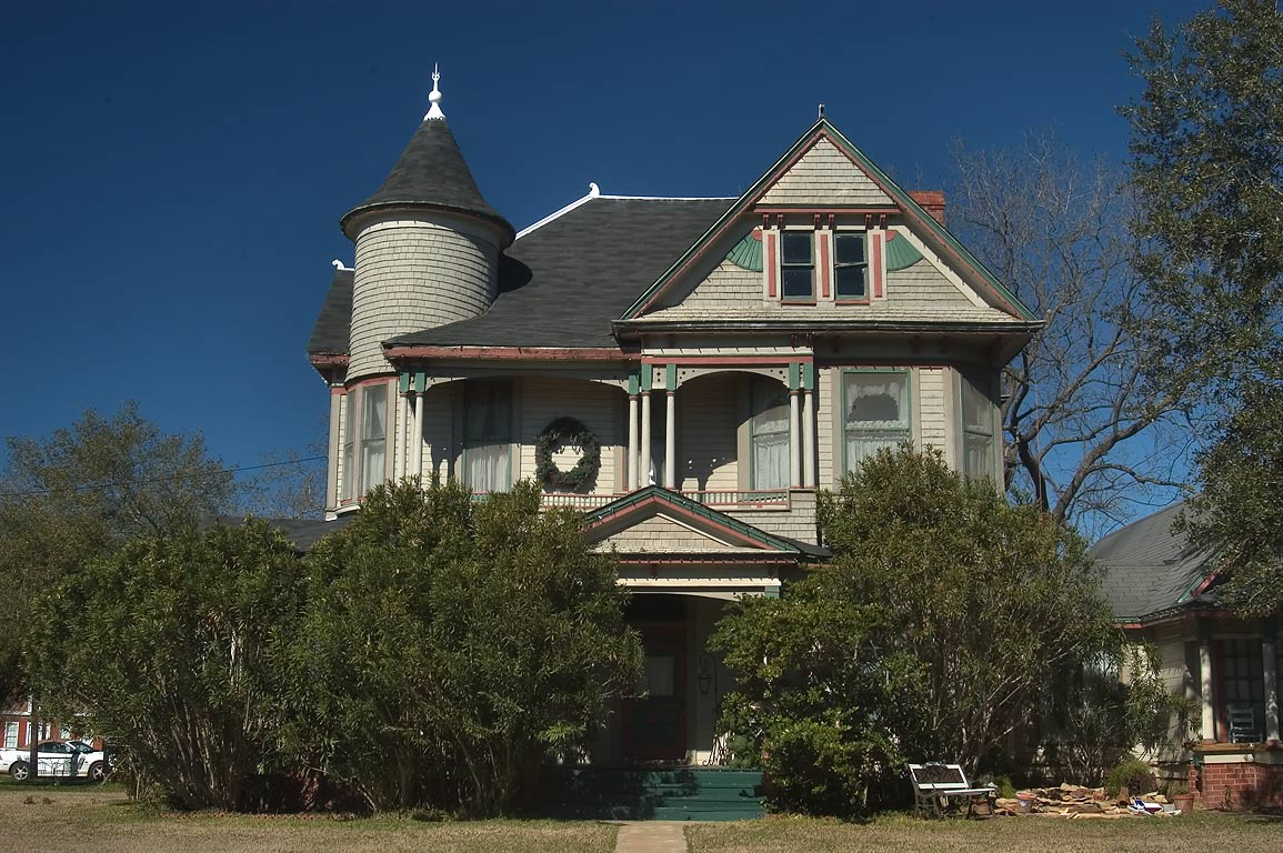 The Bird's Nest house (Samuels family-Cyndi Bird...of South Pine streets. Calvert, Texas
