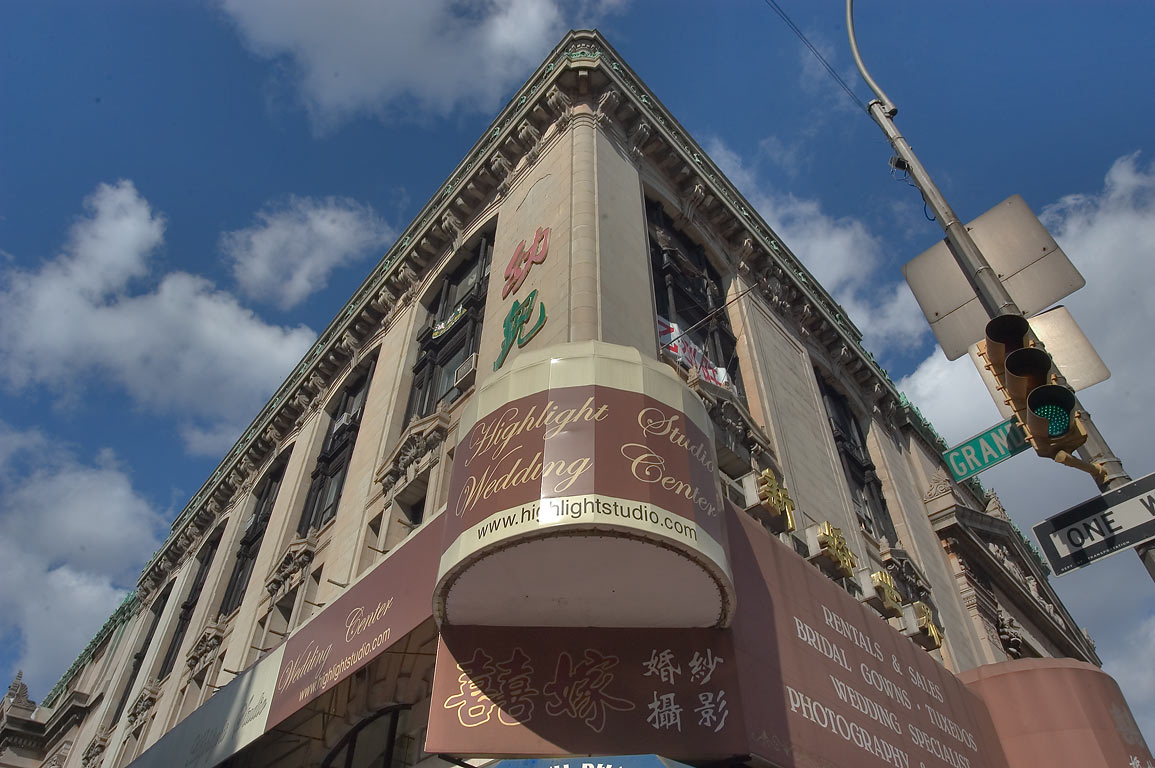 Highlight Studio Wedding Center in Chinatown. New York City