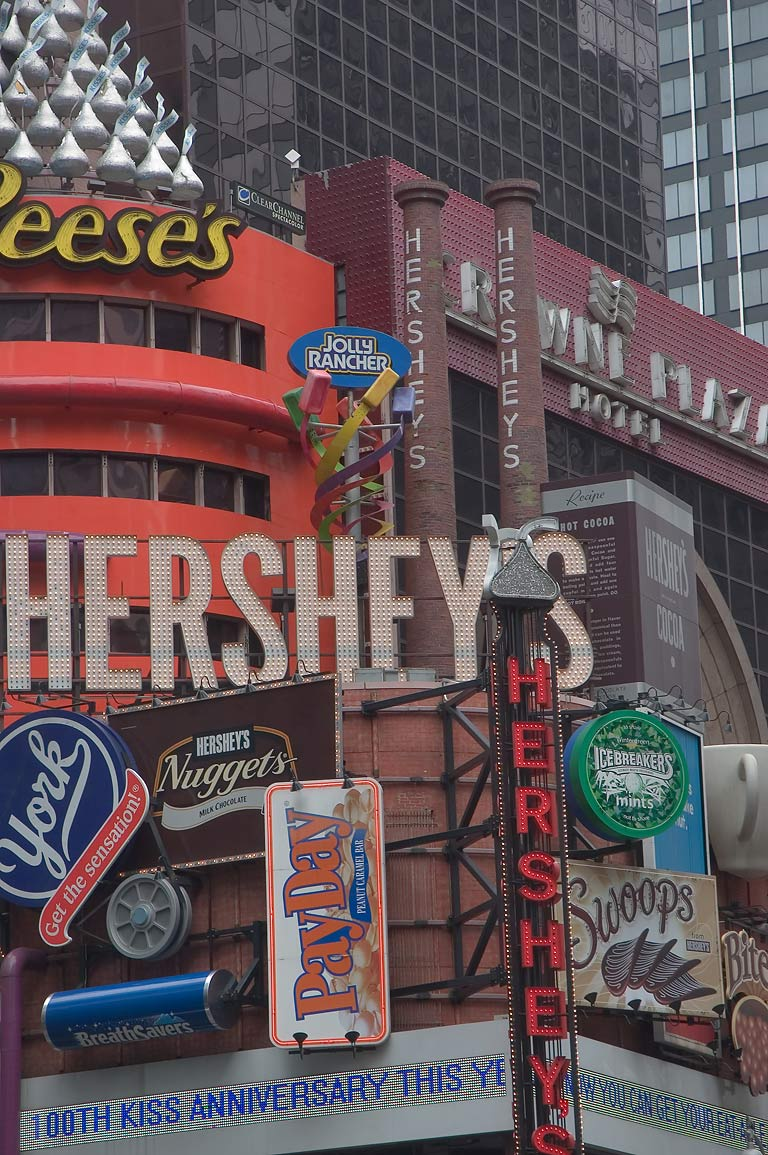 Hershey Store on Broadway Ave. New York City