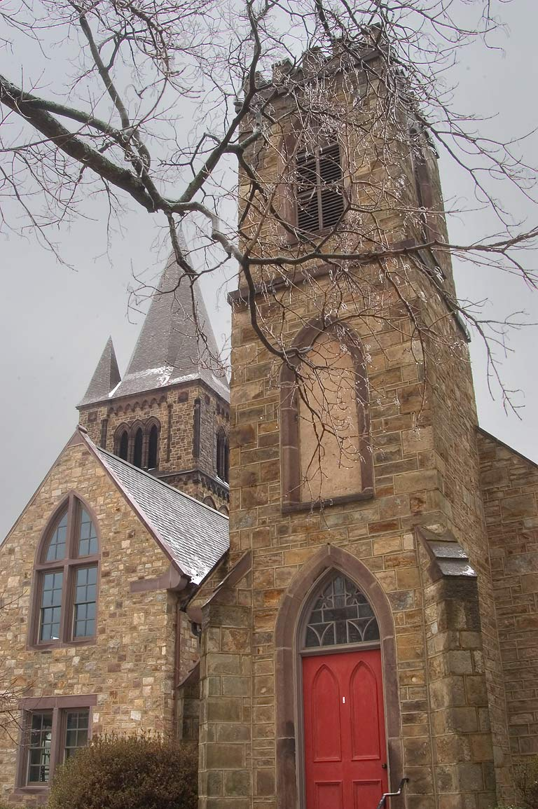 A church on Mercer St.. Princeton, New Jersey