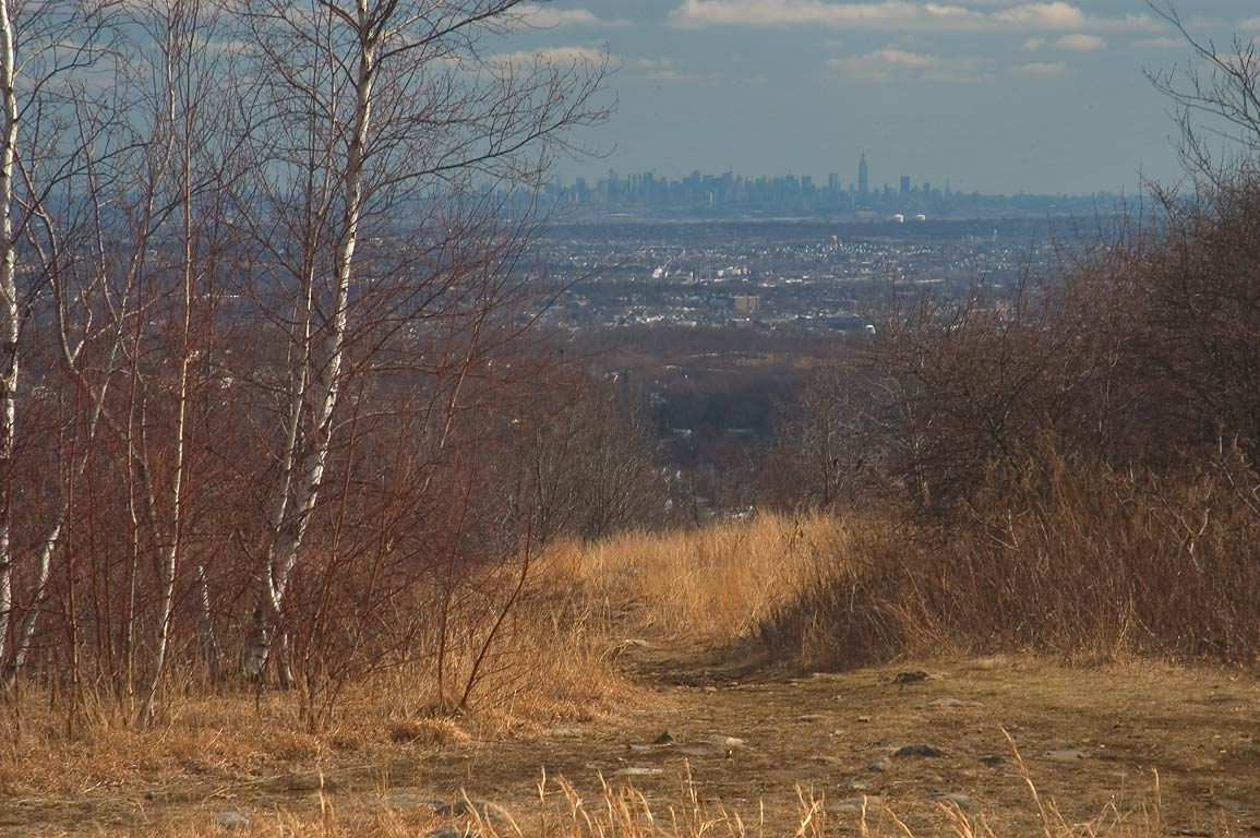 View of Manhattan from High Mountain. Paterson, New Jersey