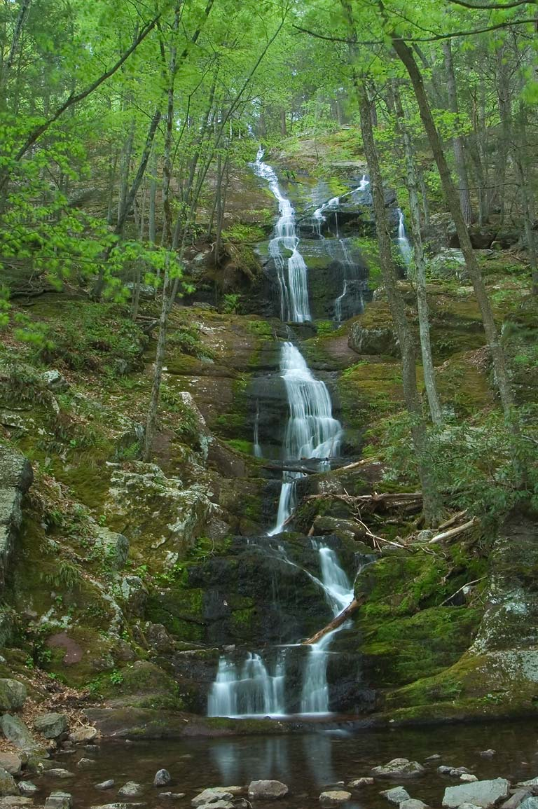 Buttermilk Falls. Delaware Water Gap, New Jersey