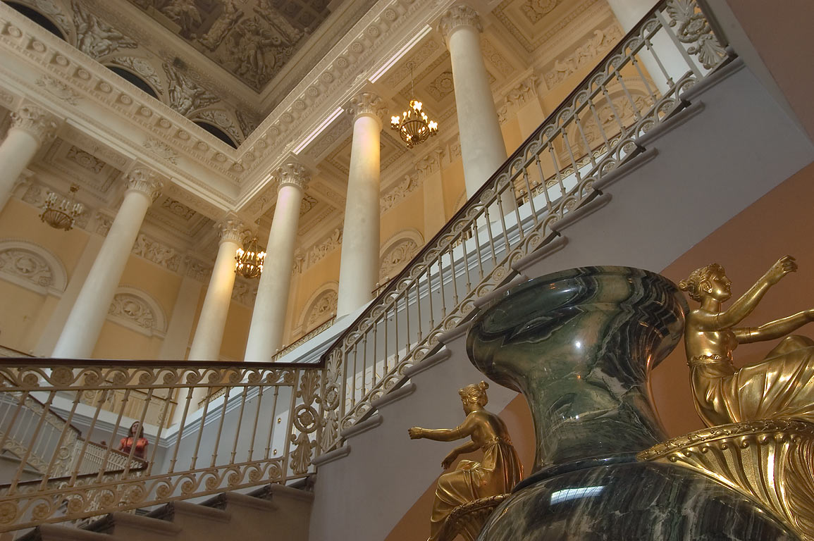 Vestibule of Russian Museum. St.Petersburg, Russia