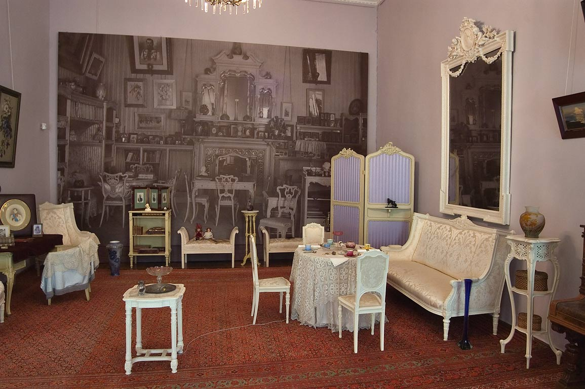 Room in Alexander Palace. Tsarskoe Selo (Pushkin), suburb of St.Petersburg, Russia