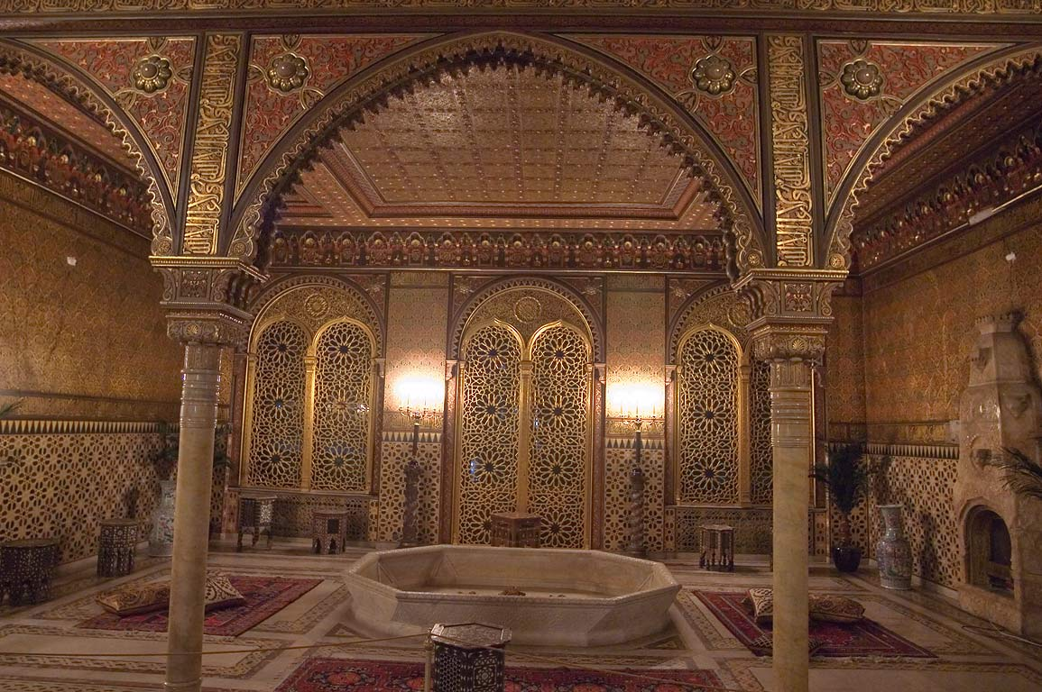 Mauritanian Parlor in Yusupov Palace. St.Petersburg, Russia