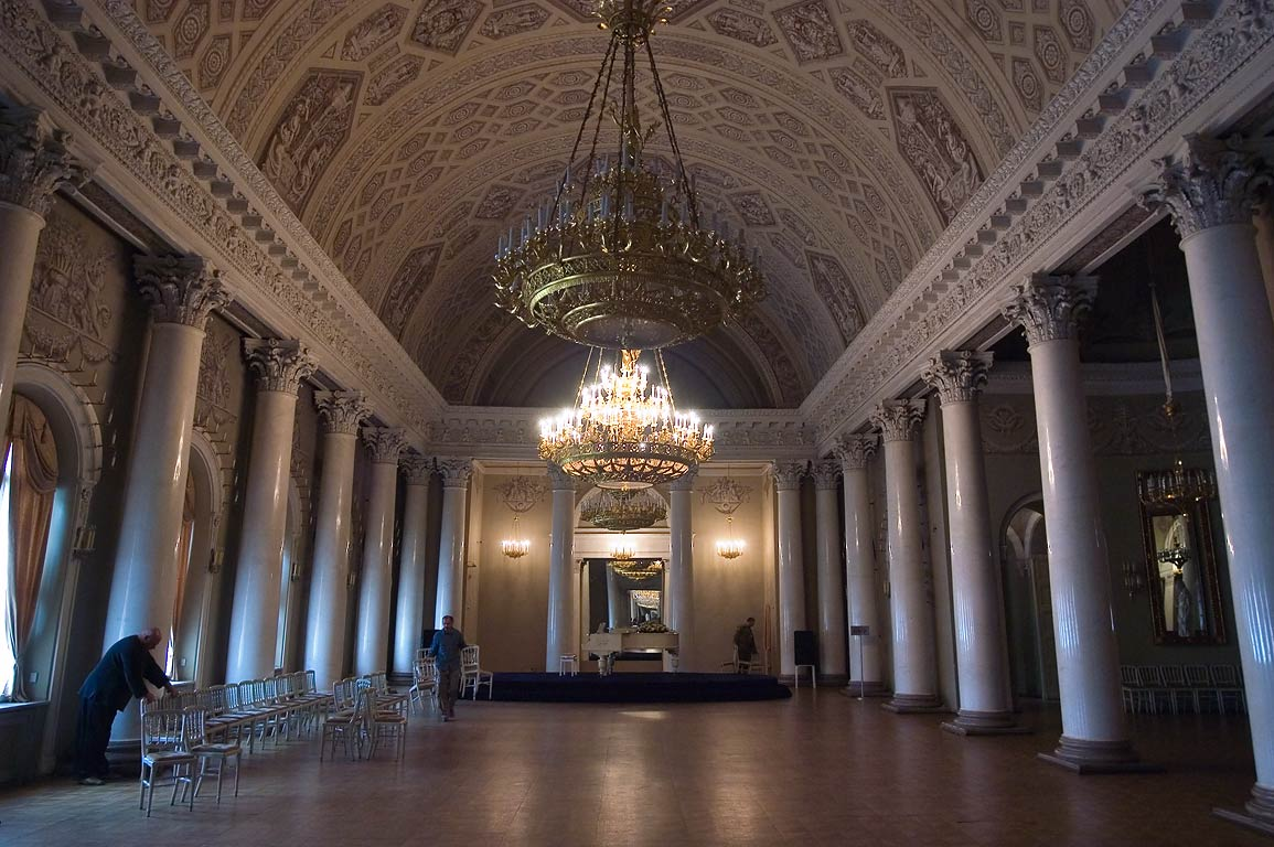 Banquet Hall of Yusupov Palace. St.Petersburg, Russia