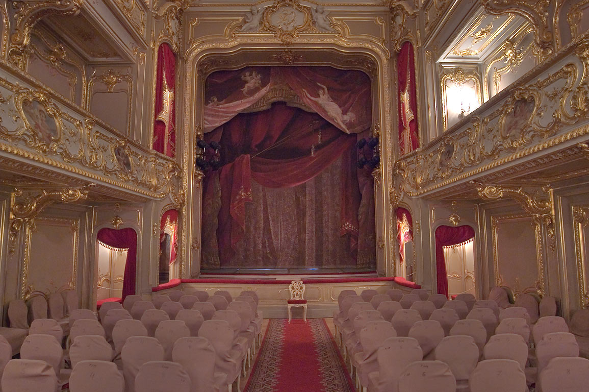 Theater of Yusupov Palace. St.Petersburg, Russia