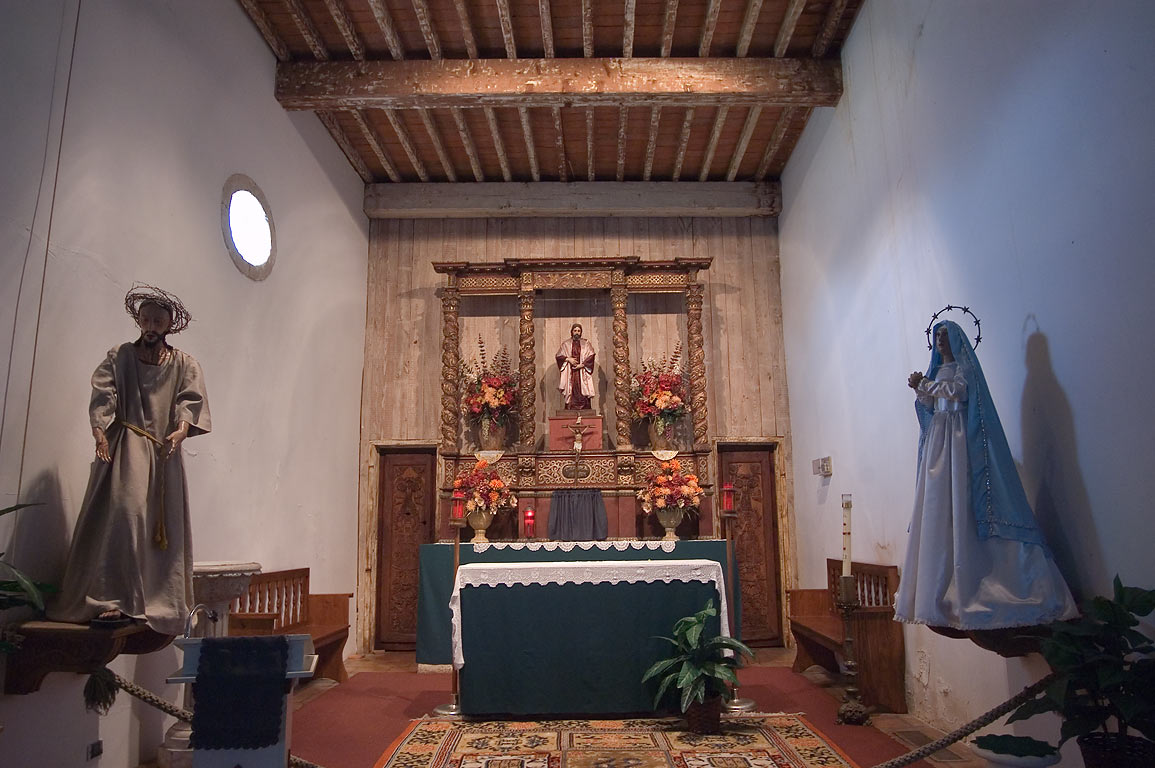 A church of Mission San Juan. San Antonio, Texas