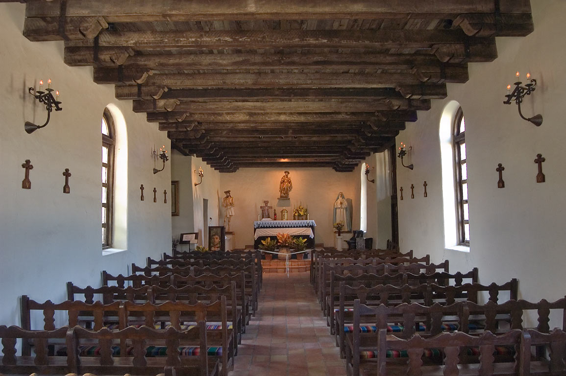 Church of Mission Espada. San Antonio, Texas
