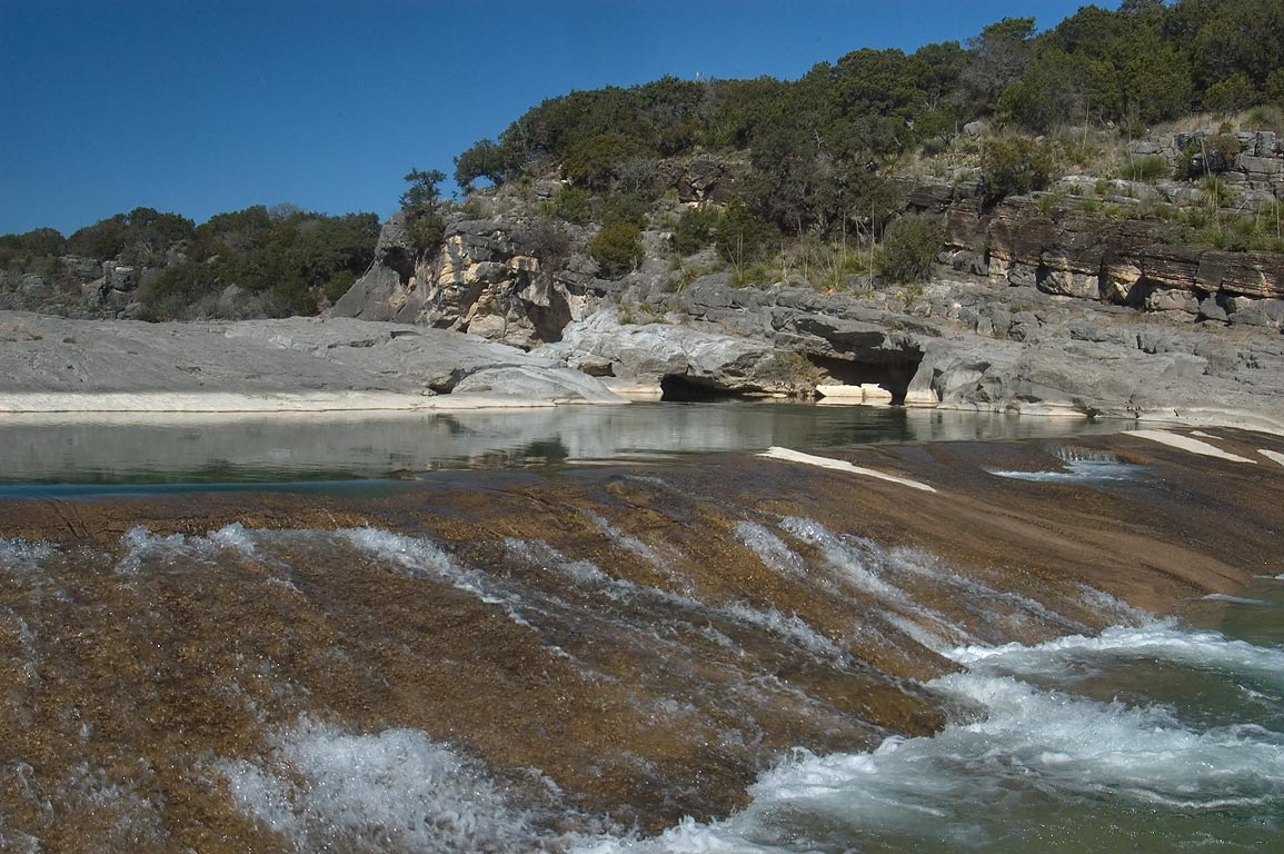 College Station-Pedernales Falls TX  - Pedernales Falls. Johnson City, Texas
