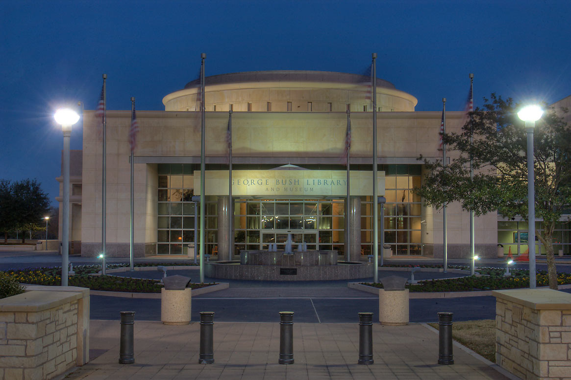 George Bush Presidential Library on campus of...M University. College Station, Texas