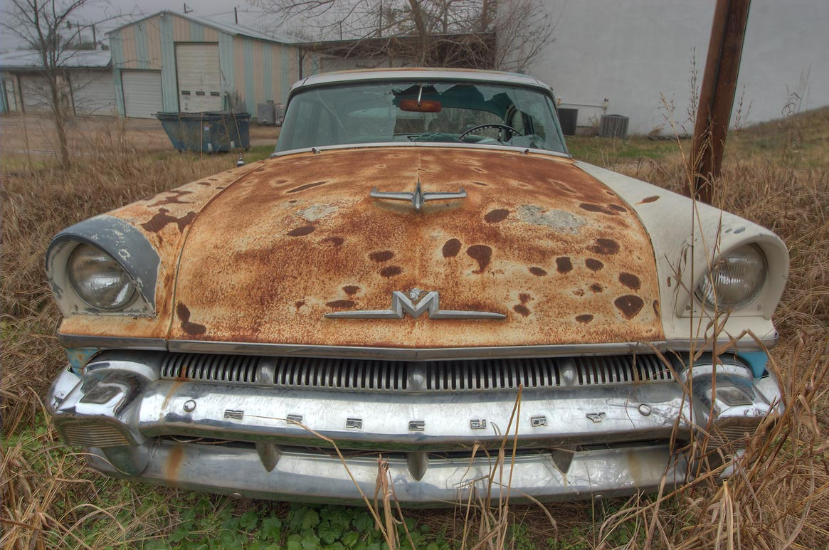 Photo 613 22 Rusty Car On Houston St Anderson Texas