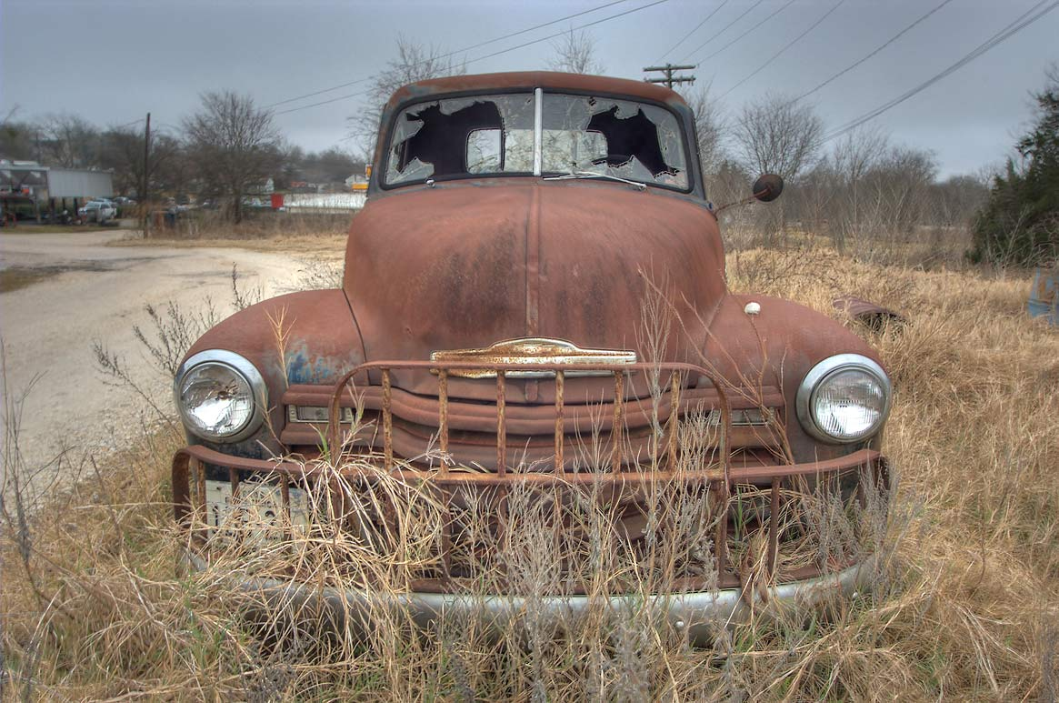 Rusty cars - search in pictures