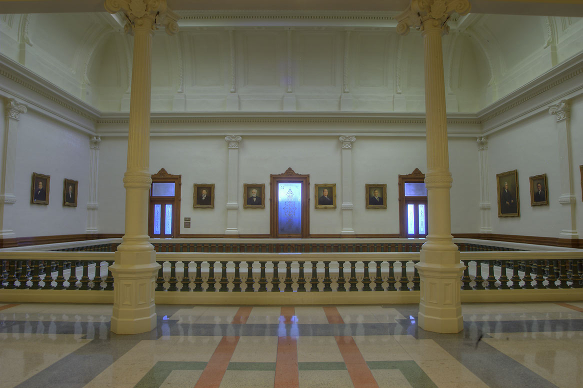 A chamber in Texas Capitol. Austin, Texas
