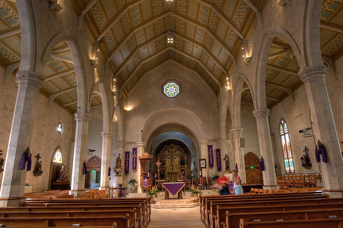 Photo 616 10 Interior Of San Fernando Cathedral San