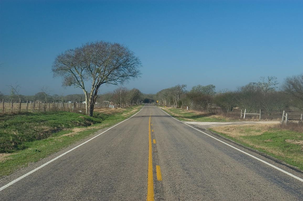 Huntsville-Somerville, Texas  - Road 3090 west from Anderson. Texas
