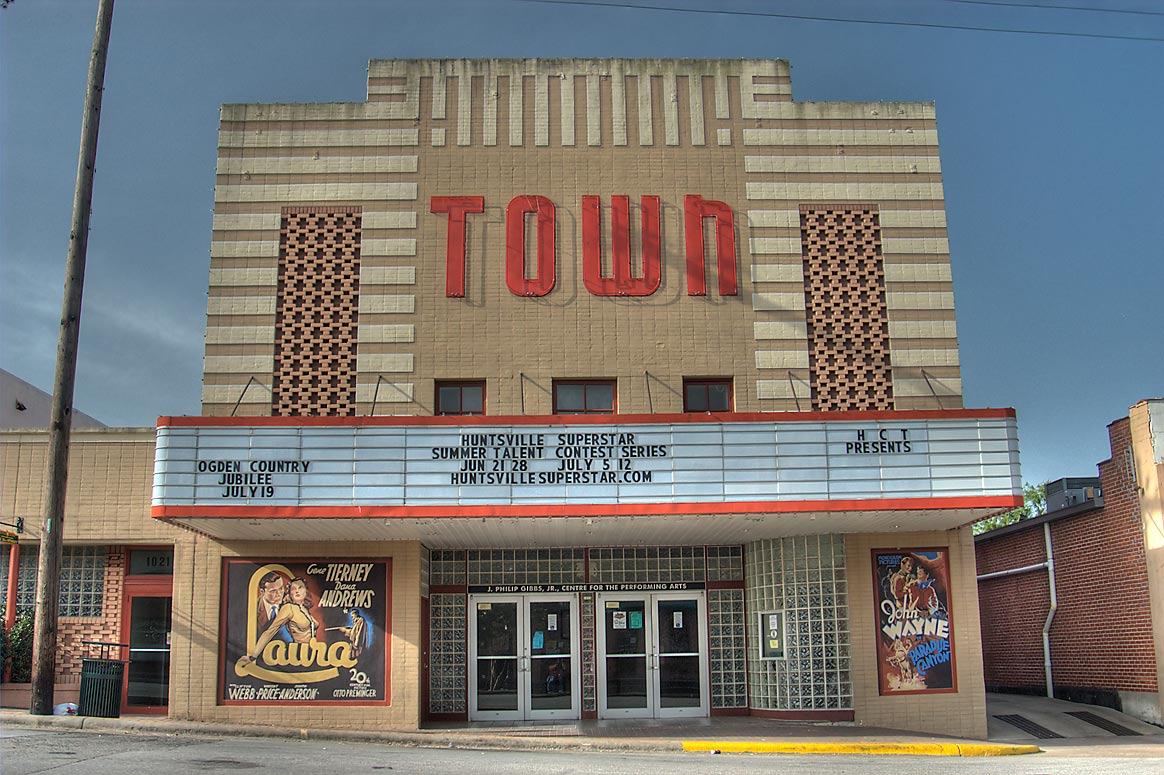 Town Theater at 1023 12th St.. Huntsville, Texas