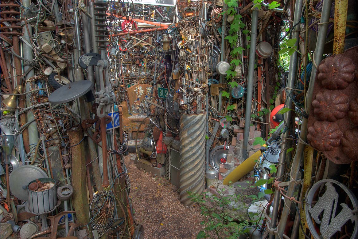 Backyard Junk Art