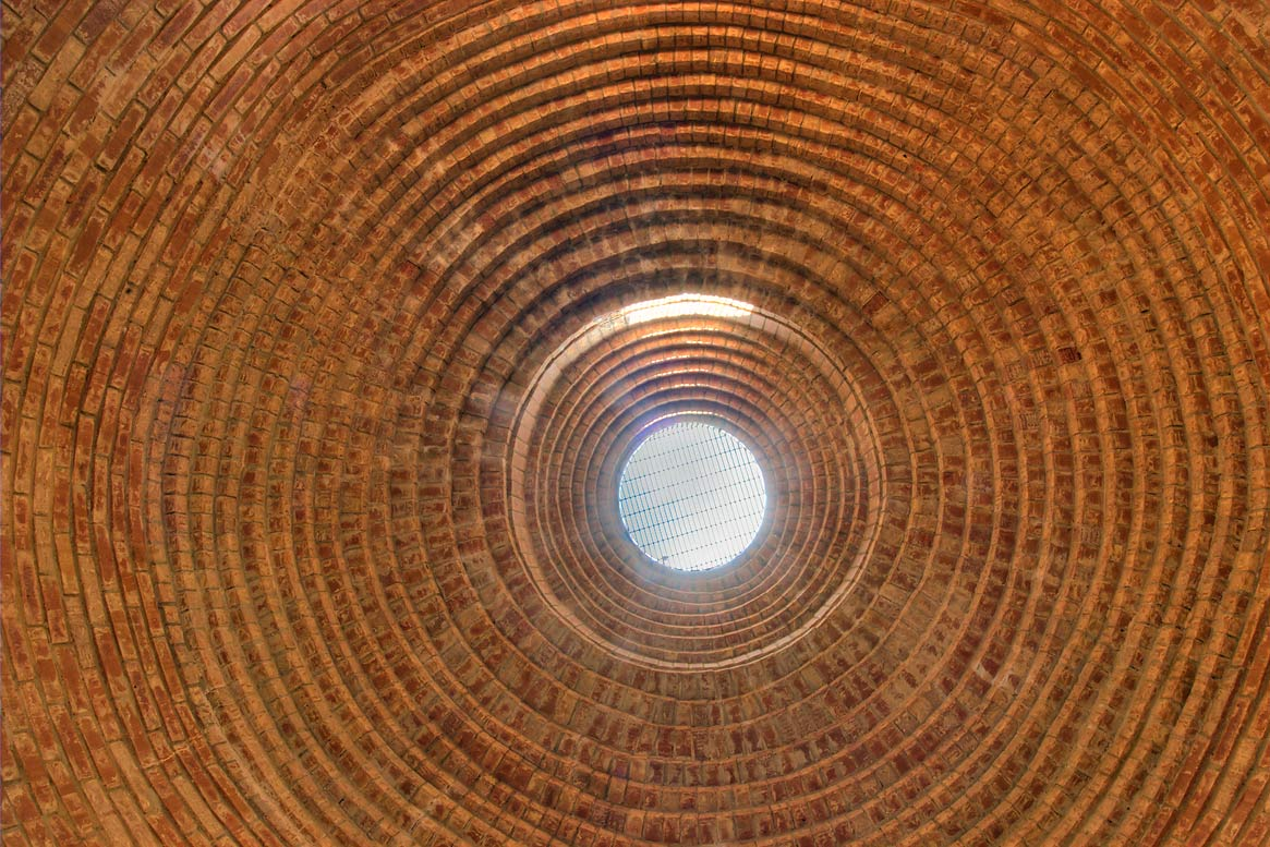 Water cistern in Ladybird Johnson Wildflower Center. Austin, Texas