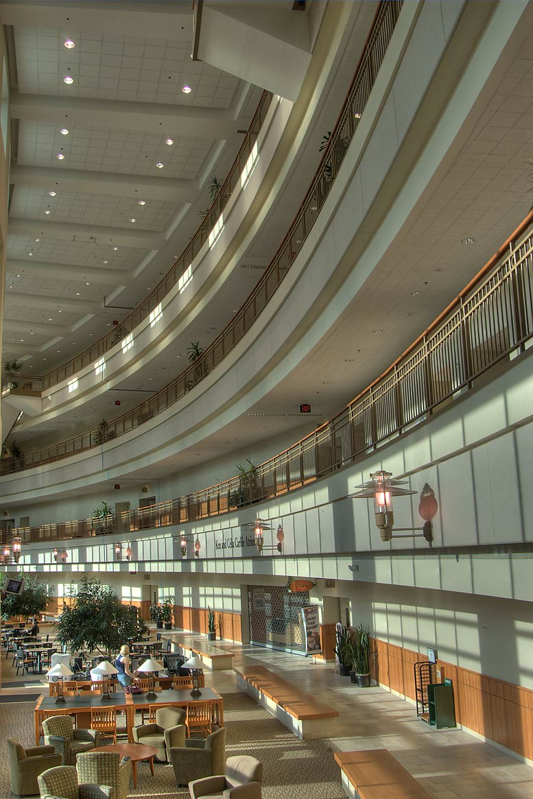Interior of Baylor Sciences Building in Baylor University. Waco, Texas