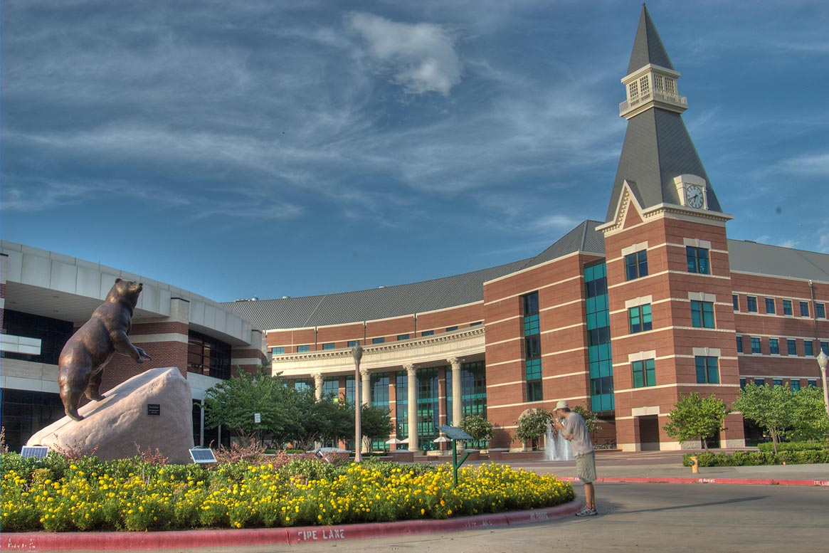 Baylor university science building
