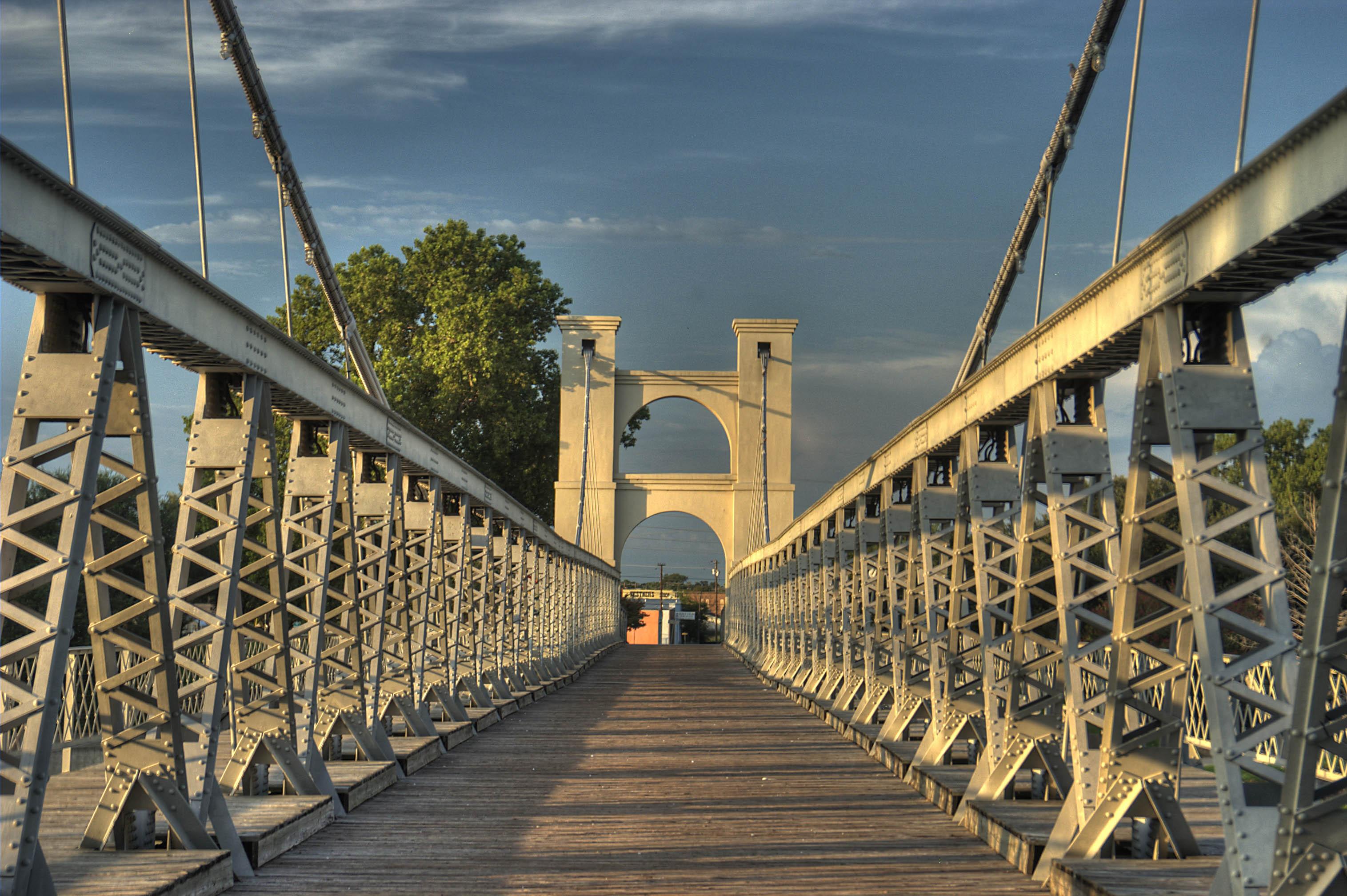 Suspension Bridge Waco