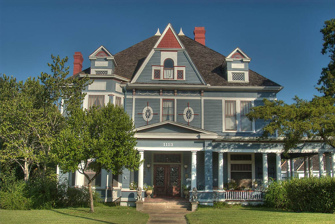 Sangster house (built in 1902) at 1113 East...St. near McNair St.. Navasota, Texas