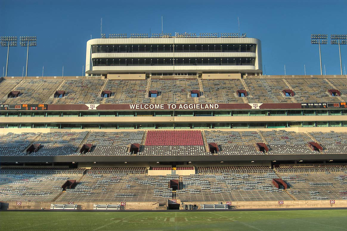 Kyle Field Stadium of Texas A&M University. College Station, Texas