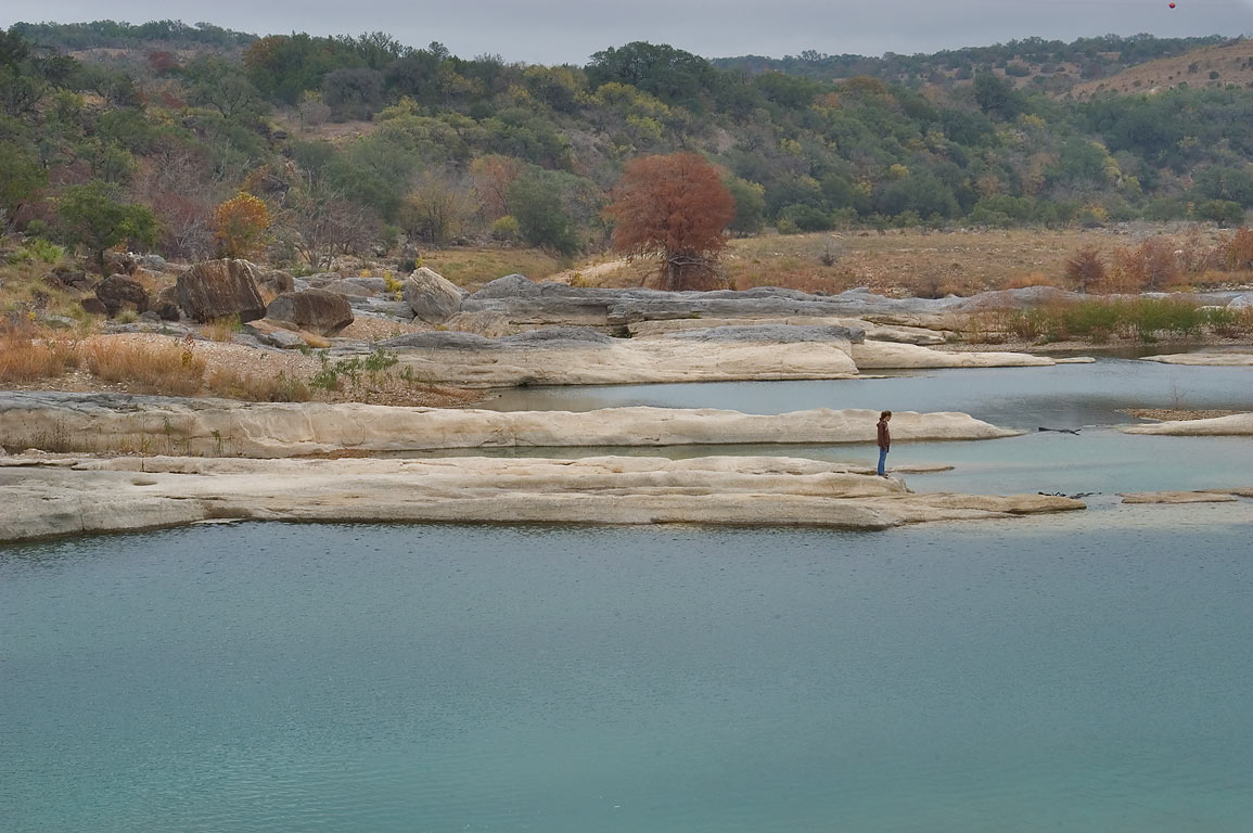 Ponds of Pedernales Falls. Johnson City, Texas