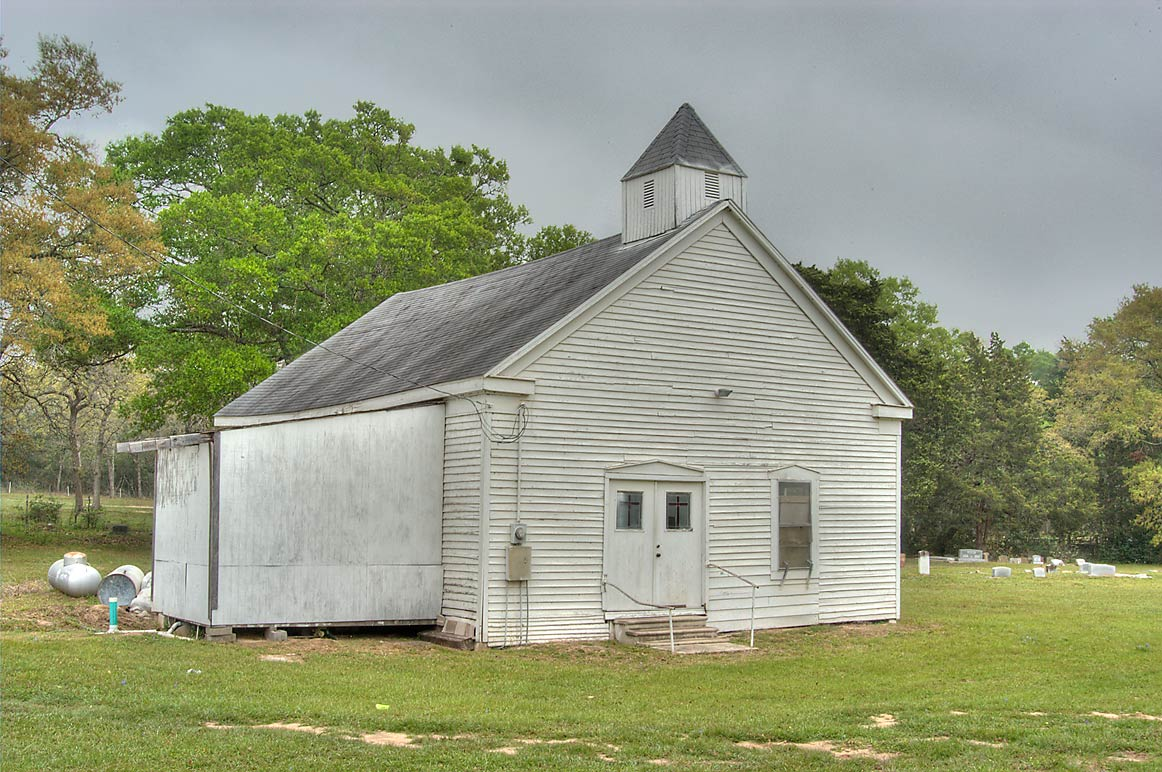 Providence Missionary Baptist Church on Meyersville Rd., south from Independence. Texas