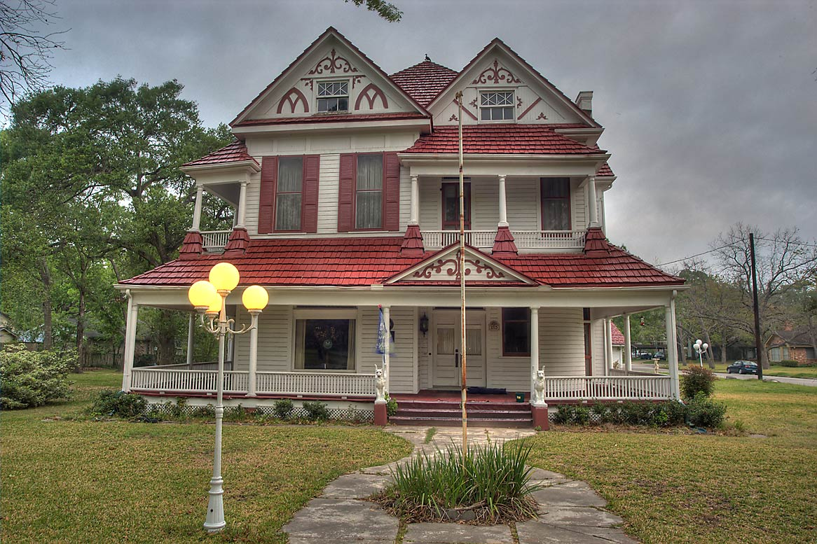 Foster Home (1900) at 1015 East Washington St., a corner of McNair St.. Navasota, Texas